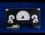1994-1997 Chevrolet S10 S15 Non-Tach White Face Gauges