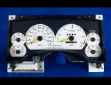 1995-1997 Chevrolet Blazer Tach White Face Gauges