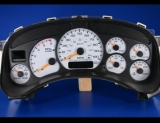 1999-2002 Chevrolet Silverado Duramax Diesel White Face Gauges