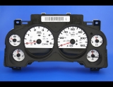2007-2008 GMC Sierra 2500 HD DURAMAX DIESEL White Face Gauges