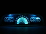 1960-1963 Chevrolet Suburban White Face Gauges