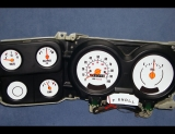 1973-1979 Chevrolet GMC Suburban White Face Gauges