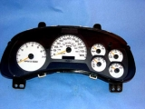 2002-2005 Chevrolet Trailblazer White Face Gauges