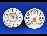1948 Chevrolet Truck White Face Gauges