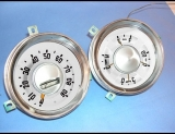 1953-1955 Chevrolet Truck White Face Gauges