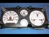 1974-1996 Chevrolet Van White Face Gauges