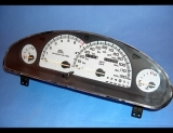 1993-1997 Chrysler Concorde White Face Gauges