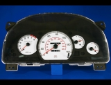 2000-2002 Daewoo Nubira White Face Gauges