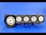 1970-1974 Dodge Challenger METRIC KPH KMH Non-Rallye White Face Gauges