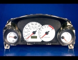 2001-2002 Dodge Stratus Manual Coupe White Face Gauges