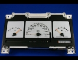 1991-1993 Dodge Caravan Non Tach White Face Gauges