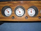 1970-1974 NR Challenger Barracuda White Face Gauges
