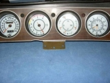 1970-1974 Dodge Challenger White Face Gauges