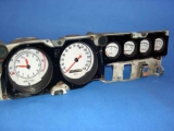 1968-1970 Dodge Charger White Face Gauges