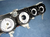 1971-1974 Dodge Charger Rallye White Face Gauges