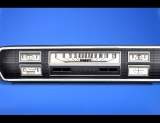 1966-1967 Dodge Coronet White Face Gauges