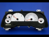 1997-2000 Dodge Dakota Non Tach White Face Gauges 97-00