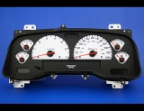 2001-2003 Dodge Dakota Durango White Face Gauges