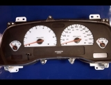 2004 Dodge Dakota White Face Gauges