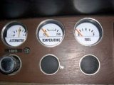 1970-1976 Plymouth Duster Valiant Scamp White Face Gauges