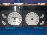 1987-1989 Dodge Daytona Lebaron White Face Gauges 87-89