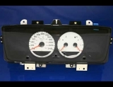 2003-2005 Dodge Neon Metric KPH KMH White Face Gauges