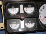 1972-1980 Dodge Ram White Face Gauges