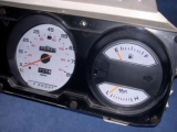 1981-1989 Dodge Ram White Face Gauges