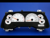 1998-2002 Dodge Ram METRIC KPH KMH White Face Gauges 98-02
