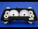 1998-2001 Dodge Ram GAS White Face Gauges