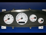 1998-2000 Dodge Stratus Sebring Cirrus White Face Gauges