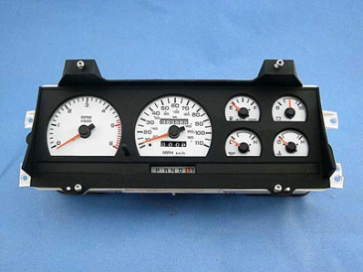 click here for Dodge white gauges