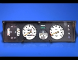 1979-1988 Fiat X19 Bertone White Face Gauges