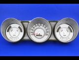 1963 Ford Fairlane White Face Gauges