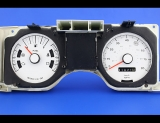 1978-1980 Ford Fairmont 85 MPH White Face Gauges