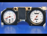 1983-1988 Ford Ranger Diesel I4 White Face Gauges