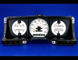1987-1991 Ford Bronco Truck Non-Tach White Face Gauges
