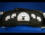 1997-1998 Ford F150 F250 Truck Non-Tach White Face Gauges