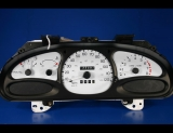 1998-2002 Ford Escort Tracer Non-Coupe Tach White Face Gauges
