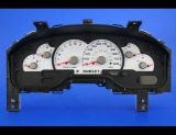 2003 Ford Explorer White Face Gauges