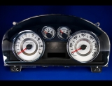 2007-2010 Ford Edge White Face Gauges