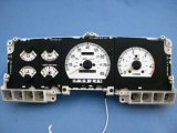 1987-1991 Ford Truck White Face Gauges
