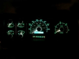 1992-1996 Ford Truck Diesel White Face Gauges