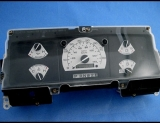 1992-1996 Ford Truck NON TACH White Face Gauges