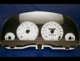 1999-2000 Ford Contour V6 White Face Gauges
