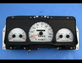 1992-1994 Ford Crown Victoria 85 MPH White Face Gauges