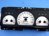 1998-2005 Ford Crown Vic 140 mph P71 White Face Gauges