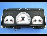 1998-2005 Ford Crown Victoria Sport White Face Gauges