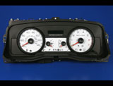 2006-2009 Ford Crown Victoria P71 White Face Gauges