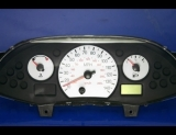 2000-2004 Ford Focus Non Tach White Face Gauges